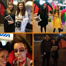Walmart Canada Halloween Inflatables by Walmart Canada Trick Or Treating With Commuters Apex Public