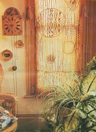 Door Curtain PDF Macrame Pattern Wall Hanging Window Covering