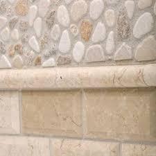 jeffrey court creama river rock mosaic 12 in x 12 in x 8 mm