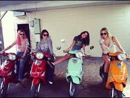 R Teenagers 2 Cool 4 Moped Scooters Encouraging Thrift And Austerity In American Youth