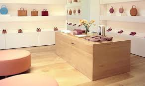 Engineered White Maple Floor In A Retail Store