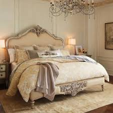 Frontgate Ez Bed by Marchand Upholstered Carved Bed Frontgate