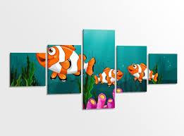 set möbelaufkleber für ikea sundvik bett schlafzimmer kinderzimmer wasser fische clownfisch kat2 unterwasserwelt su2 aufkleber möbelfolie sticker