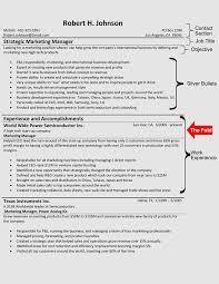 The Hybrid Resume Format