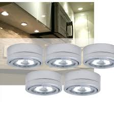 utilitech 5 pack 2 6 in cabinet dimmable xenon puck light