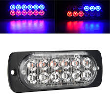 12 LED 12-24V Car Truck Police Warning Emergency Strobe Light Flash ... 36w Amber Truck 12led Flash Emergency Hazard Warning Strobe Light Red Blue 16 Led Lights High Intensity Car Trailer Side Marker Strobe Lights 612 Flashing White Recovery Beacon 18led Firefighter Vehicle Dash Can Civilians Use In Private Vehicles Xyivyg 54 Bars Deck China Power Super Bright Tractor 3 Inch 45w Light V16 For American Simulator Ultra Slim Waterproof 18w 6led Surface Mount Minibrights Watt Amber Markerstrobe Peterbilt Tow