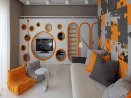 Modern Boys Room TV Set Cool Designs For Guys