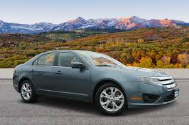 Pre-Owned 2012 Ford Fusion SE 4dr Car In Colorado Springs #A85025A ...