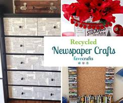 Turn Yesterdays News Into Todays Treasure With These 30 Recycled Newspaper Craft Ideas From Jewelry To Wall Decor You Can Use Newspapers And Magazines