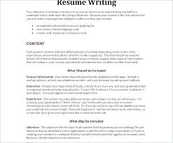 Sample Resume Objective Of A Teacher Packed With Career Change Objectives Examples For All