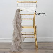 Natural CHIFFON Curly CHAIR SASH Wedding Party Decorations WHOLESALE ... Buy Whosale Pack Of 100 Premium White Spandex Chair Covers Lavender Chiffon Curly Chair Sash Wedding Party Decorations Cover Sash Bands Lycra For Cheap For Events Crealive Plus Banquet Plum Fuzzy Fabric Sale Chair Cover Hire In West Drayton Hayes Hounslow Balloon And Ties Linen Seat And Sashes Black Purple Weddings Bridal Tablecloths And Runners Direct
