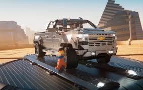 100 Big Chevy Truck Silverado Making Bigscreen Debut In Lego Form