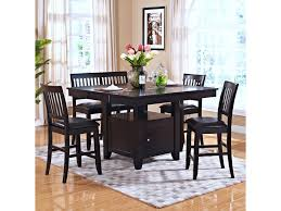 5 Piece Dining Room Set With Bench by New Classic Kaylee 5 Piece Table Set With Chairs And Bench Van