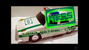 100 Hess Toy Truck Values Video Review Of The 1993 Patrol Car YouTube