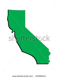 Vector Image Of The State California Illustrator 8