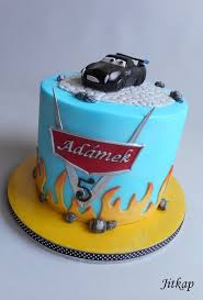 Cars 3 cake cake by Jitkap CakesDecor