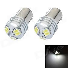 1157 3w 6 smd 5630 led white light car brake light bulb dc