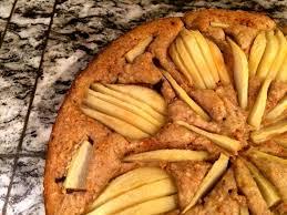 birnen schoko nuss kuchen leckeres in vegan