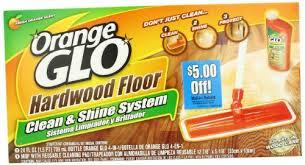 amazon com orange glo hardwood floor clean and shine system
