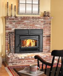 LIVING ROOM Add brick hearth to existing fireplace …