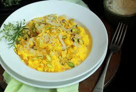 Pumpkin Risotto Recipe Easy by Pumpkin Pistachio Risotto Recipe By Archana U0027s Kitchen Simple