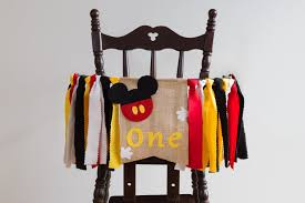 High Chair Banner Mickey Mouse For One Year Old Baby Boy 1st Birthday Decor  With Mickey Ears Red Black Yellow Ribbons For Mickey Mouse Party Minnie Mouse Room Diy Decor Hlights Along The Way Amazoncom Disneys Mickey First Birthday Highchair High Chair Banner Modern Decoration How To Make A With Free Img_3670 Harlans First Birthday In 2019 Mouse Inspired Party Supplies Sweet Pea Parties Table Balloon Arch Beautiful Decor Piece For Parties Decorating Kit Baby 1st Disney
