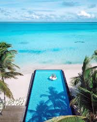 100 Maldives Infinity Pool Visit On Twitter Floating On The Longest Infinity