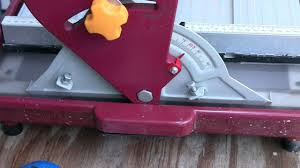 Tile Saw Water Pump Not Working harbor freight 7 in bridge tile saw youtube