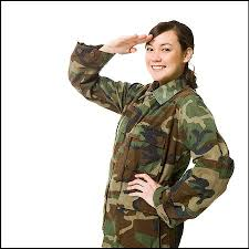 Soldier Salute Stock Photos