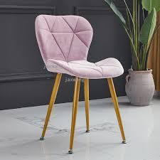 nordic haushalt leder stühle für küche freizeit rückenlehne schlafzimmer make up stuhl möbel moderne kreative esszimmer stuhl