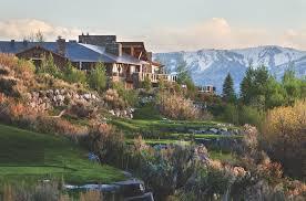 100 Utah Luxury Resorts Nature Nurture Legacy And Elks The Promontory Club