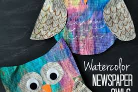 Getting Artsy With Recycled Newspaper Crafts Momma Art And Craft Ideas For Kids