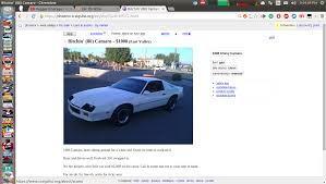 100 Phoenix Craigslist Cars And Trucks Anyone Want A Bitchin Camaro With A New 350
