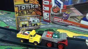 Tonka Metal Diecast Body Tonka Trucks Dump Truck, FireTruck, Police ...
