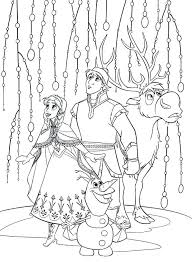 Free Printable Coloring Pages Frozen Olaf Pdf Of