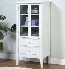 White Storage Cabinets With Drawers by Decorative Storage Cabinets With Glass Doors You Should Buy It