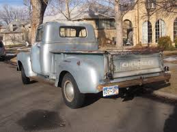Down On The Mile High Street: 1951 Chevrolet Pickup - The Truth ...
