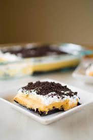 Pumpkin Layer Cheesecake by Pumpkin Oreo Dessert Kitchen Gidget