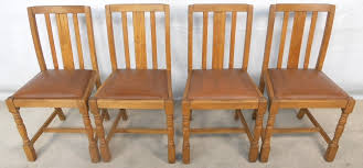 Wood Kitchen Chairs Four Beech Wood Kitchen Dining Chairs Sold