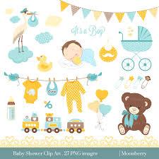 Baby Shower Clip Art BABY SHOWER Clip Art Baby