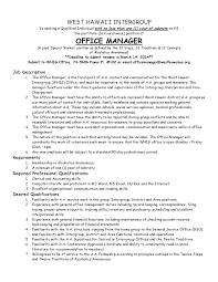 Front Desk Manager Salary Nyc by Responsibilities Of An Office Manager Recentresumes Com