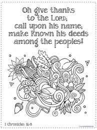 Thanksgiving Bible Verse Coloring 2
