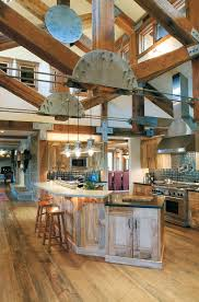 Decor Mash Ups Rustic Industrial