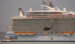 Cruise Ship Sinking Santorini by Titanic Redux Can Royal Caribbean Safely Evacuate 8 500