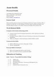 Teenage Resume Sample Examples For Teenager Resumes Of Job