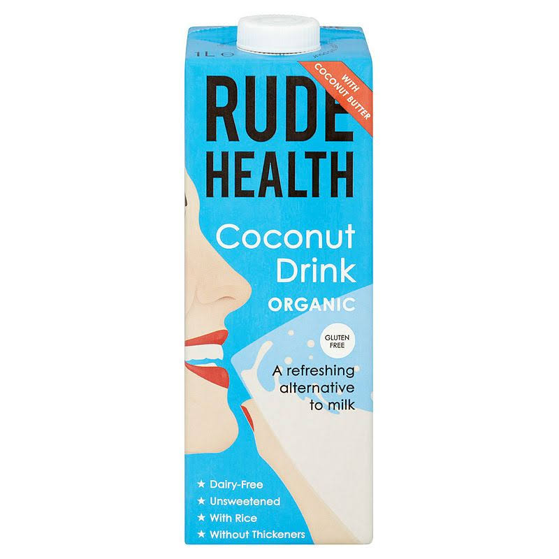 Rude Health Organic Coconut Drink - 1l