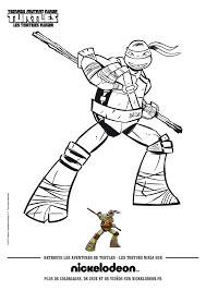 Coloriage Tortue Ninja 15 JeColoriecom