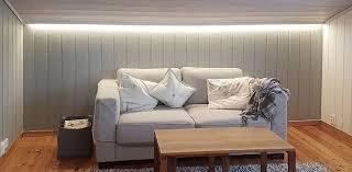 led strips living room the light
