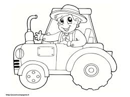 Gallery Of Dessin Tracteur Agricole Coloriage Tracteur Coloriage