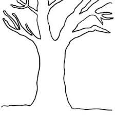 Tree Coloring Pages Of Trees